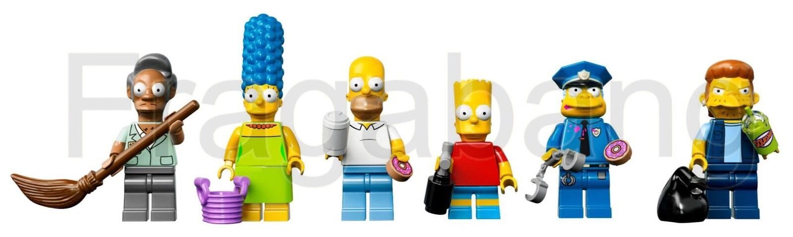 LEGO 71016 The Simpsons  Set Of Minifigures (split from 71016)