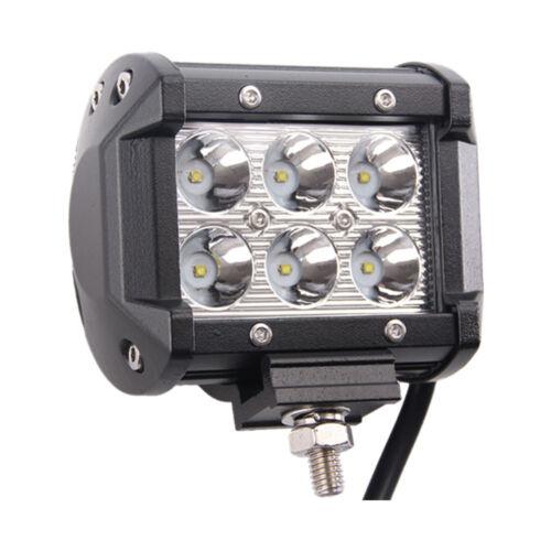 "28/"" 180W CREE LED Light Bar Spot Flood 4WD Ford with 2X Wiring Kit /& 2X 18W Spot"