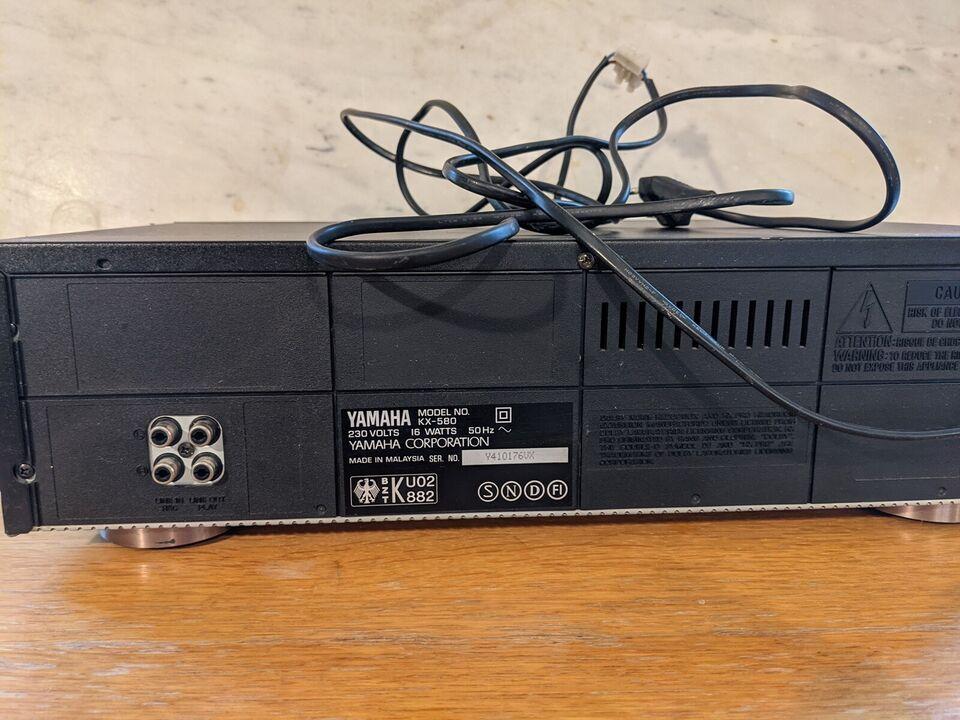 Båndoptager, Yamaha, KC 580