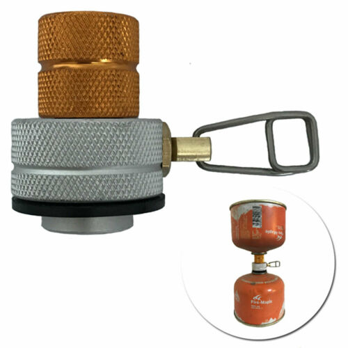 Outdoor Camping Stove Gas Refill Adapter Butane Propane Canisters Connectors new