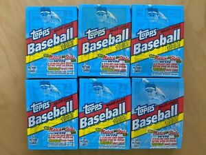 6-Packs-34-picture-cards-each-1992-TOPPS-MAJOR-LEAGUE-BASEBALL-Sealed
