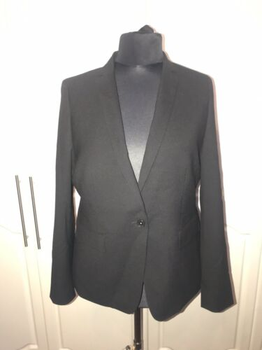 18 Womens Wool Next Signature Size £120 Blazer Rrp rr01dwqn