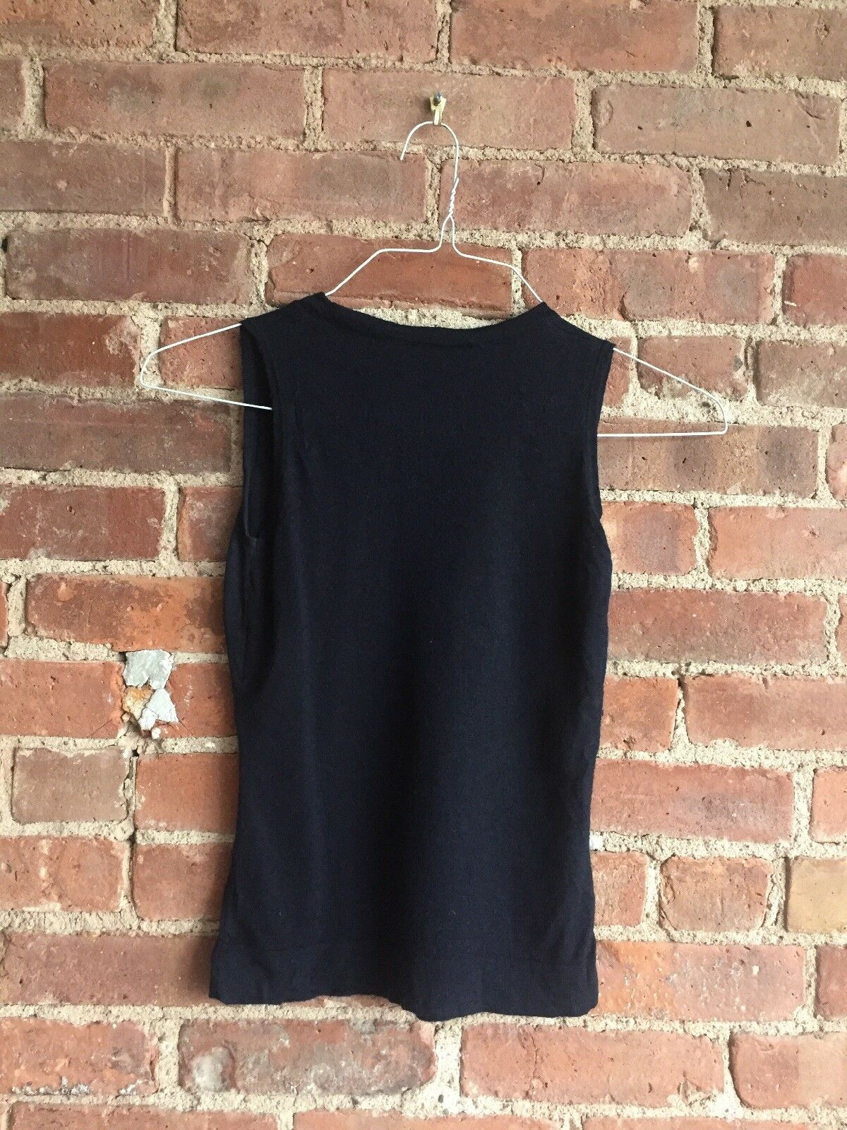 Vintage Christian Dior Boutique Womens Sleeveless Sweater, Sz Sz Sz 36 It, 4 US  e2075d