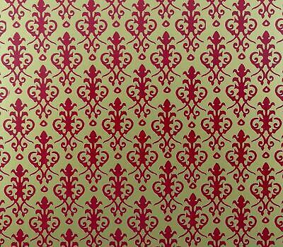 Melody Jane Maison de poupees ancien brique rouge papier miniature impression...