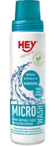 Hey-Sport de détergent pour fonction textiles Micro Wash 250 ml Bouteille
