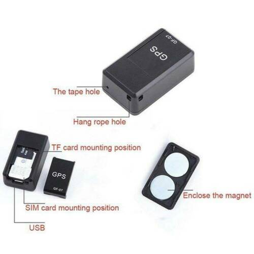 Mini 3G//4G GPS GPRS Tracker Magnetic Locator Car Childs Elder Tracking Device*