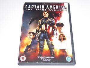 Captain-America-1-The-First-Avenger-GENUINE-UK-DVD-EXCEL-CONDIT-Marvel-Film