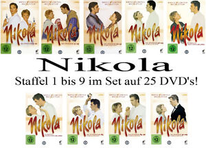 25-DVDs-NIKOLA-STAFFEL-1-9-IM-SET-DIE-KOMPLETTE-SERIE-NEU-OVP-amp