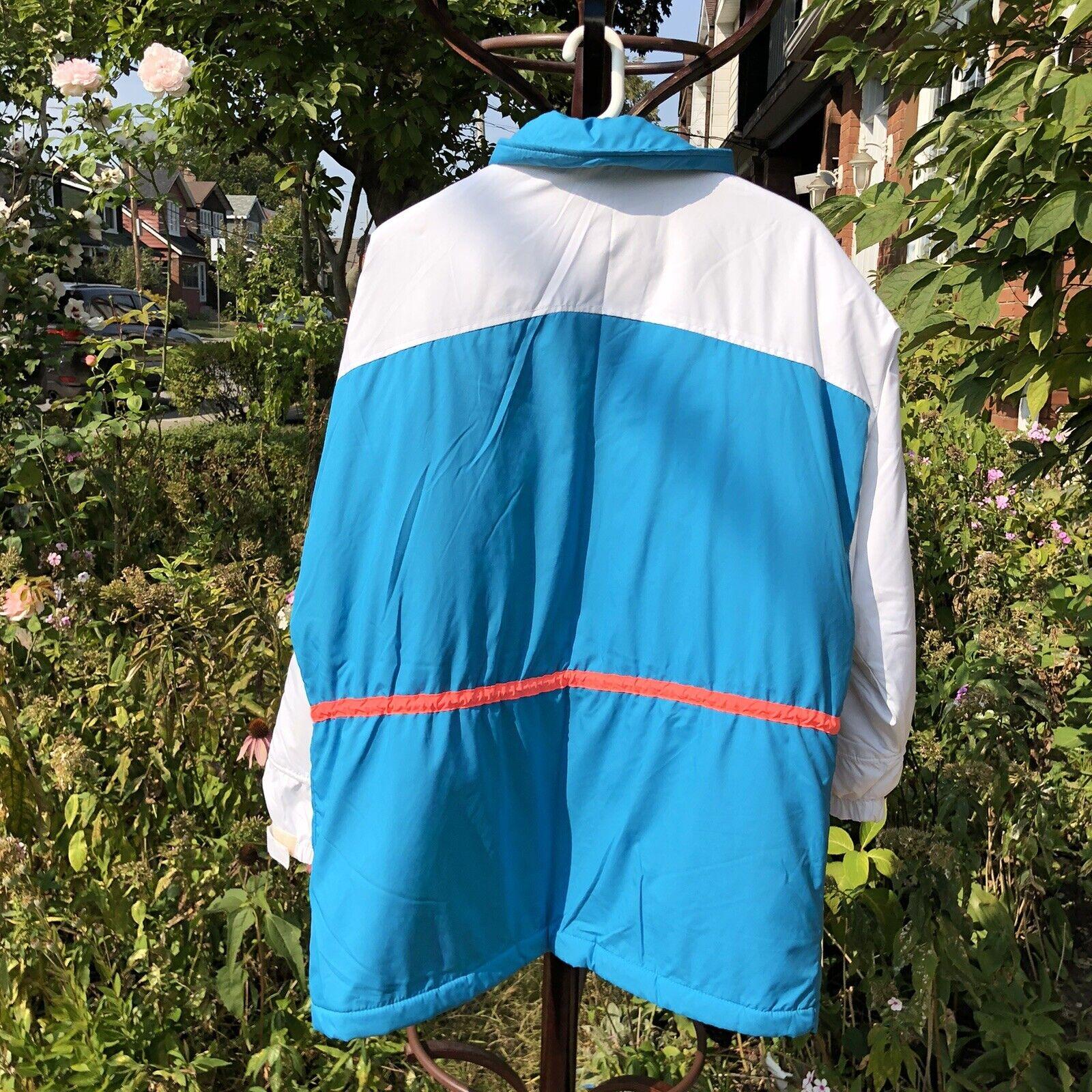 Vintage 90s Ski Multi-color Color Block Jacket Co… - image 3