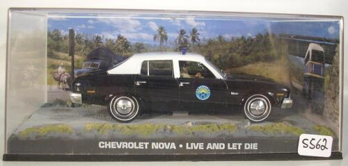 James Bond 007 Collection 1//43 Chevrolet Nova Live and let die in O-Box #5562
