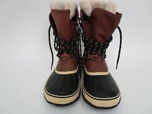 Target Snow Boots Faux Fur Sorel Mens 8
