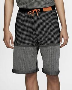 Nike-Sportswear-Tech-Pack-Knit-Shorts-Mens-Black-Active-Wear-AR1587-010
