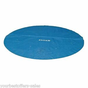 Intex Solar Pool Cover 16 ft Pool Swimming Pool Accessories Round ...