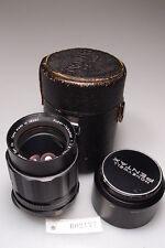 PENTAX SUPER TAKUMAR 105mm 1:28 PORTRAIT LENS M42 SCREW MOUNT W/CASE&HOOD