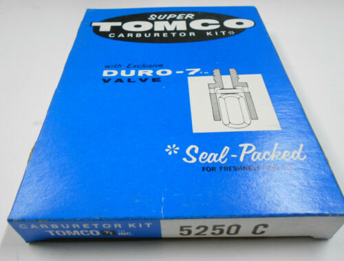 Tomco 5250C Carburetor Rebuild Kit for 1971-1973 Chevrolet /& GMC Rochester 2GV
