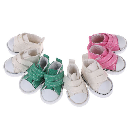5cm Canvas shoes for bjd doll fashion mini shoes doll shoes for doll accessor Pr