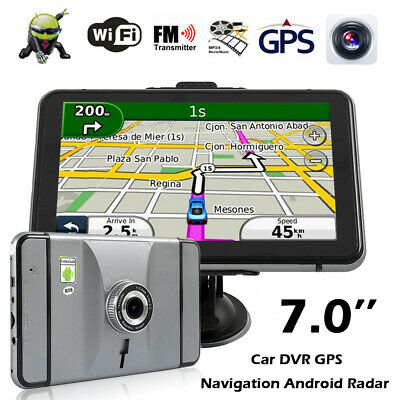 5/'/' Portable Car GPS Navigation Auto Navigator Nav 8GB 128MB RAM with Free Map