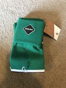 Nike Bristol Soccer Socks- Adult Unisex- Green/ Black/ White