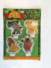 The Lion King Birthday Candles Pack Of 4 Simba Pumbaa New Sealed w