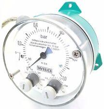 WILO DDM 10 Differenzdruck Manometer Druckwächter Druckmesser 0..1bar 110461094