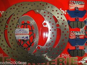 KIT-2-DISCS-BREMBO-PADS-FRONT-REAR-BMW-R-1150-GS-1999-2000-7D6