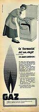 G- Publicité Advertising 1955 La Cuisinière au Gaz