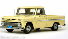 1965 CHEVROLET C-10 STEPSIDE PICKUP TRUCK YELLOW 1/18 MODEL BY SUNSTAR 1364
