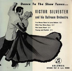 45TRS-VINYL-7-039-039-BRITISH-EP-VICTOR-SILVESTER-BALLROOM-ORCHESTRA-SHOW-TUNES