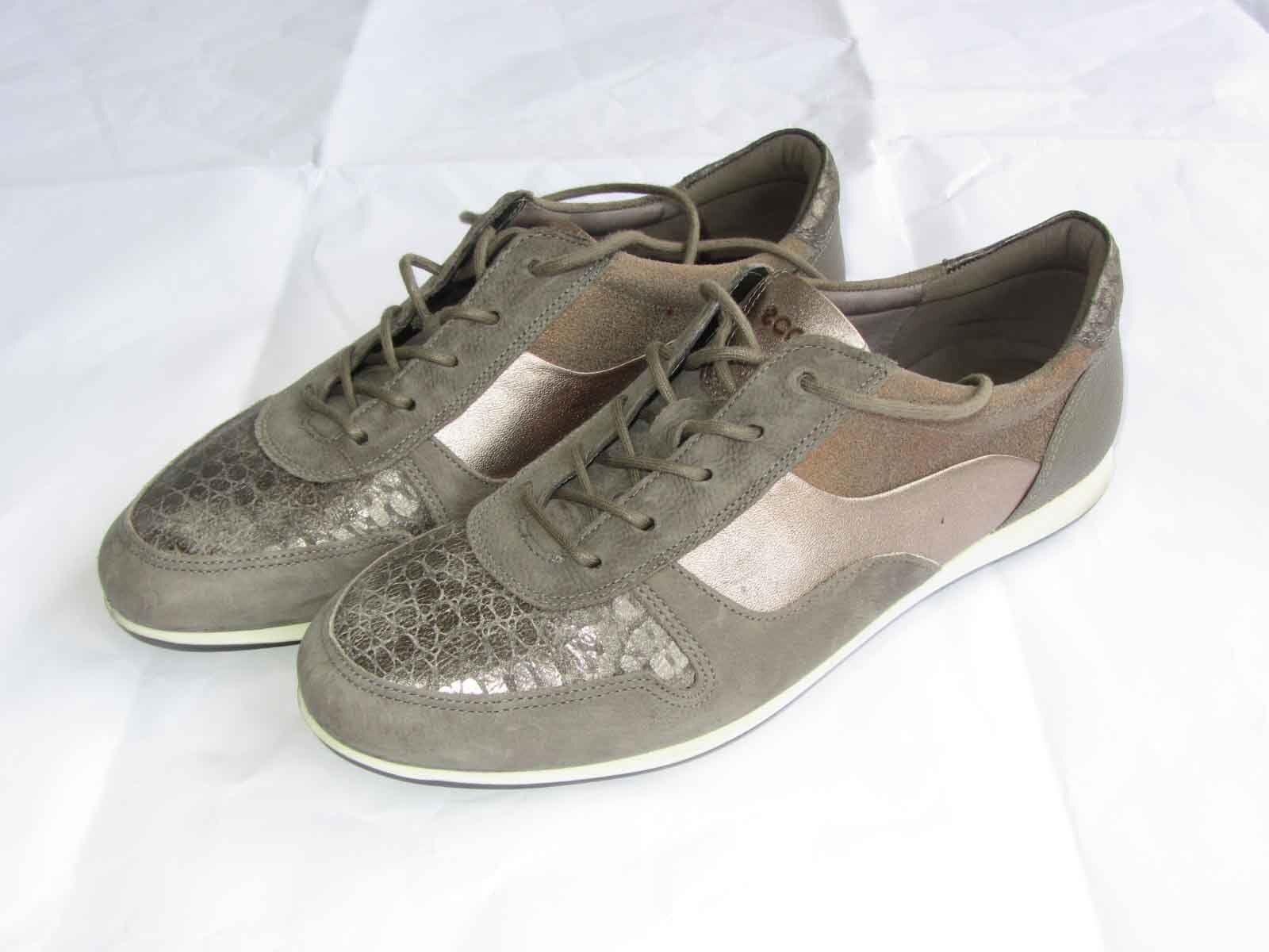 Calzado Ecco Ecco Ecco para mujer Talla 38 Moda Tenis Zapatos gris Cálido Metálico Seminuevo  al precio mas bajo
