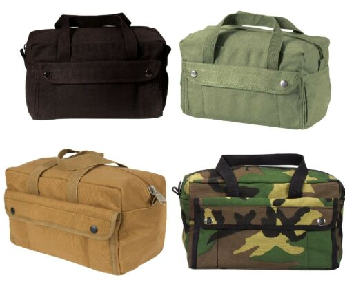 Mechanics Tool Bag Heavy Weight Cotton Canvas Military Mini Duffle Tool Bags