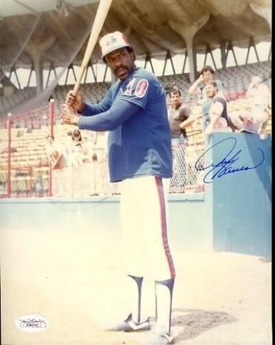 Andre Dawson Unreleased Image Signed Jsa Certed 8x10 Photo Autograph Authentic
