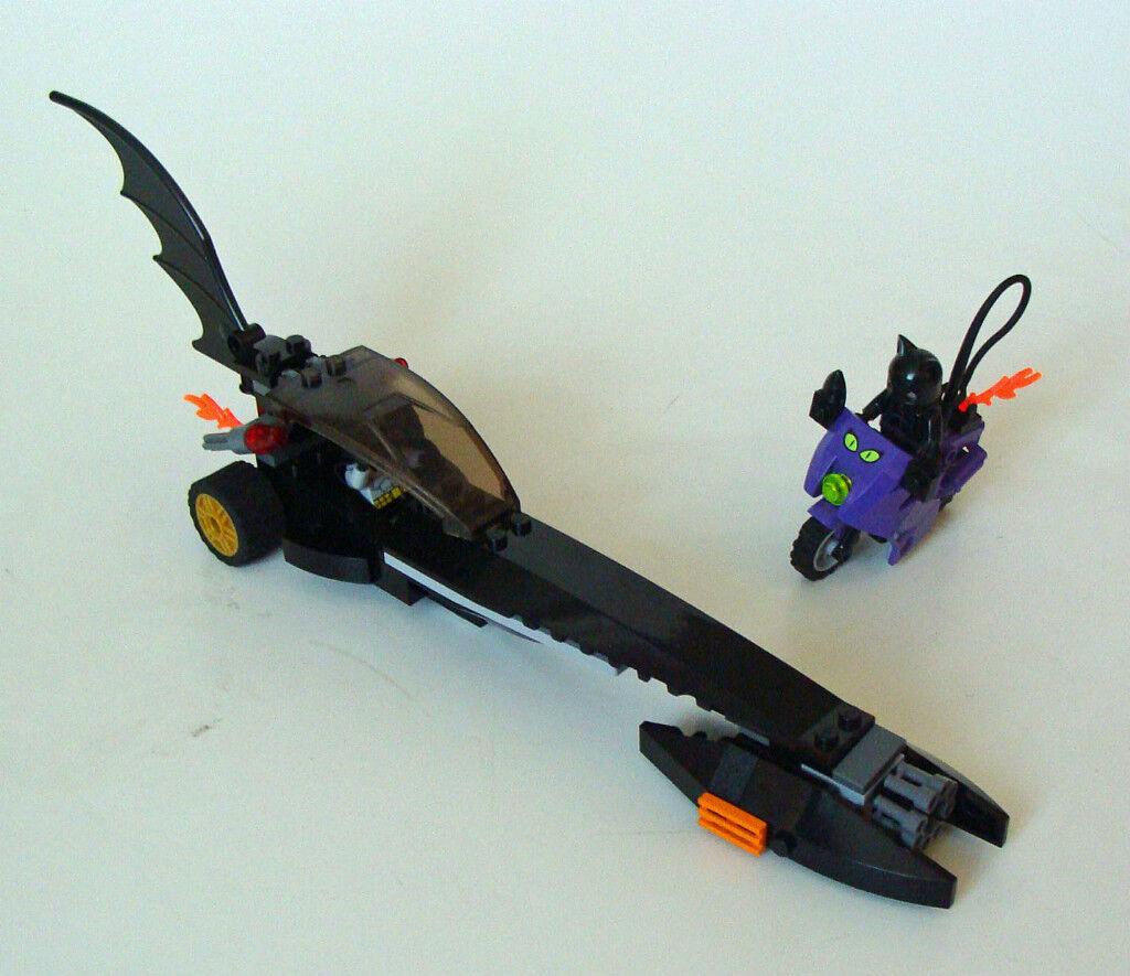 LEGO ® Batman 7779 Batman DRAGSTER caccia Catwoman 6-12 anni 92 pezzi usati