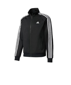 Buy adidas Men's Essentials 3 Stripe Tricot Track Jacket at
