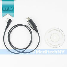 USB Programming Cable For Kenwood KPG-22 +CD Software TH-F6A TH-G71 TK340 TK-260