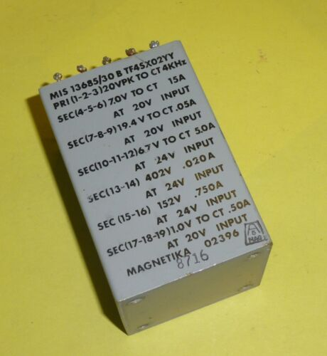 Trafo Übertrager Transformer 20VPK to ct 4 Khz