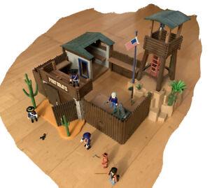 Playmobil 5245 Western Großes Soldaten Fort Brave Nordstaaten mit OVP