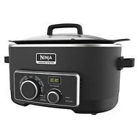 Ninja Multi Cooker 4-in-1 6-Quart Digital Cooking System - Manufacturer Refurbished