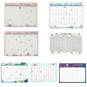2019-Calendar-Desk-Wall-Daily-Scheduler-Table-Planners-Organizers