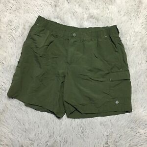 Columbia-Womens-Sz-Small-Army-Green-Outdoor-Quick-Dry-Shorts