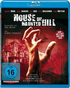 House On Haunted Hill (1999) [Blu-Ray/Nuovo/Scatola Originale] remake dell'horror classico gioco Camp,