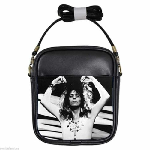 Details about  /ALICE COOPER KILLER Leather Sling Bag Small Purse