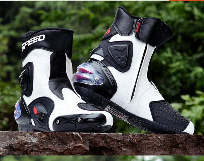 Nuevo Para Hombre Ciclismo Moto Deporte de combate de montar a caballo de carreras Caliente botas al Tobillo Calzado