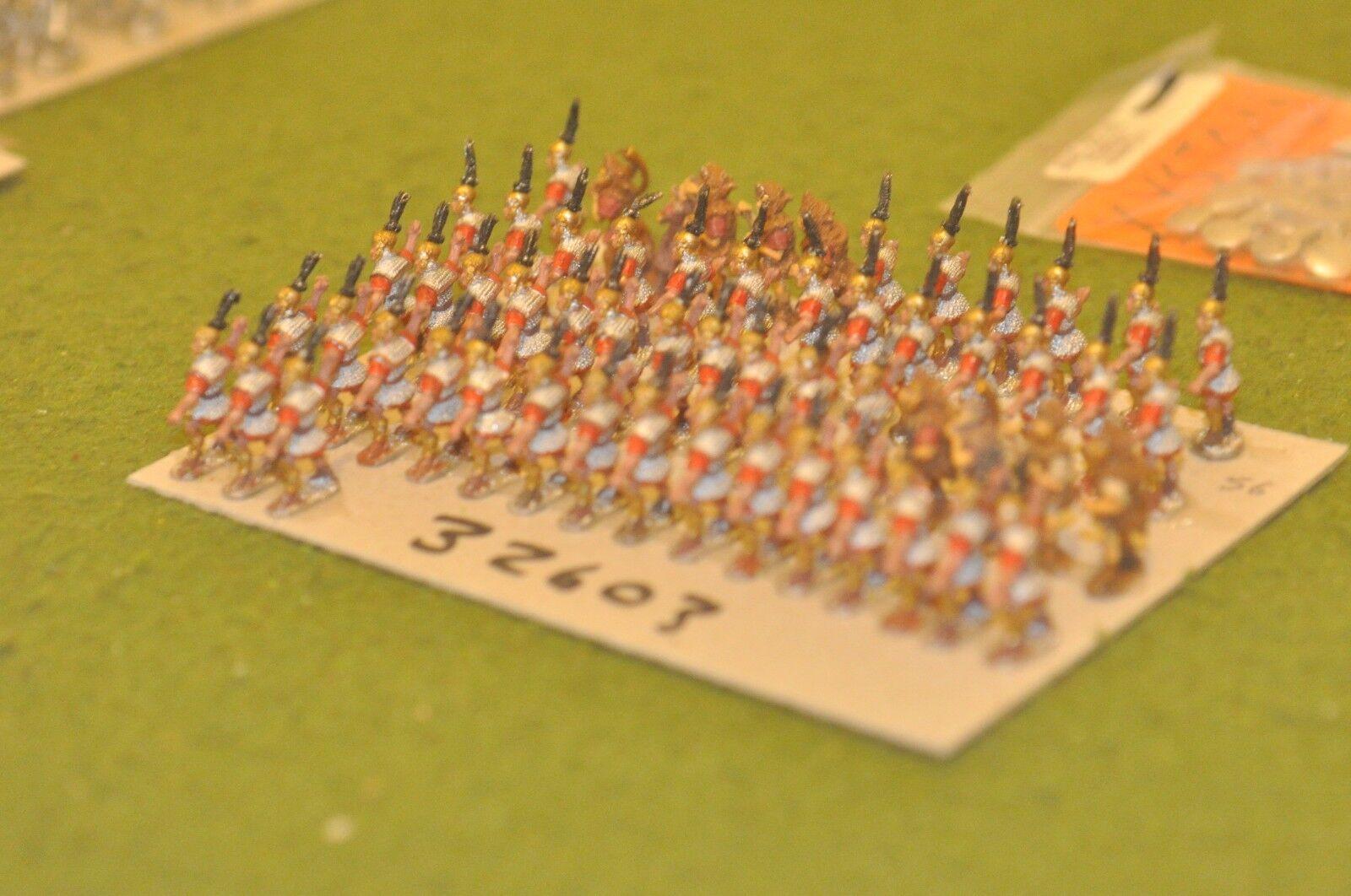 15mm roman era   roman - legionaries 56 figures - inf (32603)
