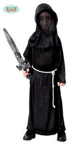 Travestimenti Halloween Uomo.Dettagli Su Costume Travestimento Vestito Carnevale Halloween Uomo Nero Bimbo Bambino