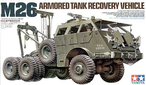 Tamiya 1 35 M26 Tank Recovery Vehicle