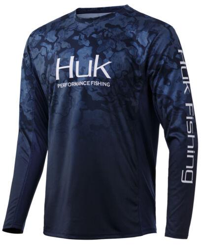 Huk Men/'s Icon X Camo Fade PEI Medium Long Sleeve Shirt