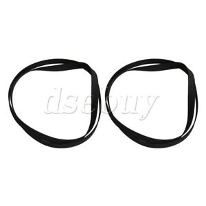 2PCS-40-2cm-Perimeter-Rubber-Flat-Turntable-Belt-for-VCR-Record-Player