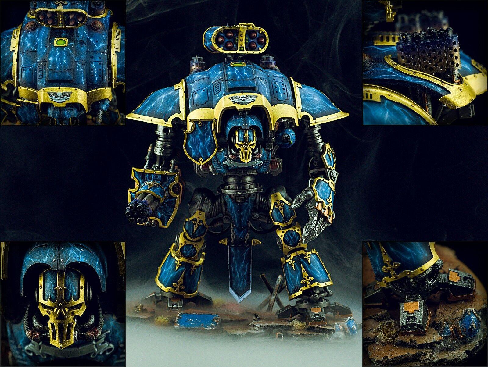 kejserlig Knight Fully Magnetized - Warhammer 40k Målat Commission