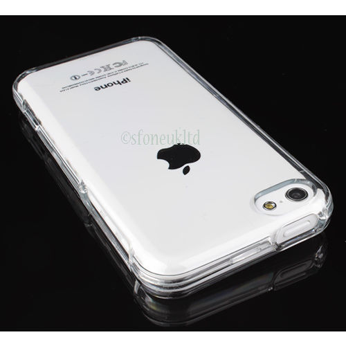 Slim Ultra Thin Soft Back Transparent Clear Case Cover Protector for iPhone 5C
