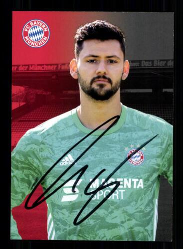 Michael Netolitzky Autogrammkarte Bayern München Amateure 2019-20 Original Sign